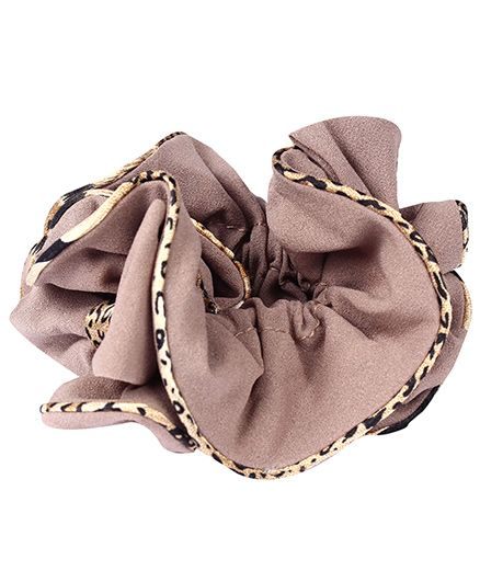 Coffee Brown Beautiful Ponytail Band