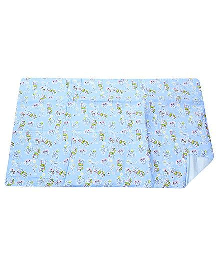 Tinycare Diaper Changing Sheet Blue - Large