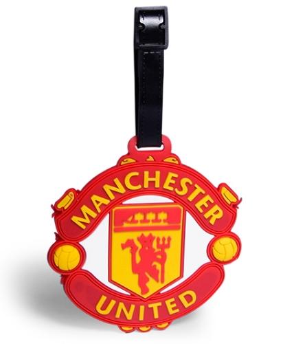 EZ Life Premium Silicon Luggage Tag - Manchester United