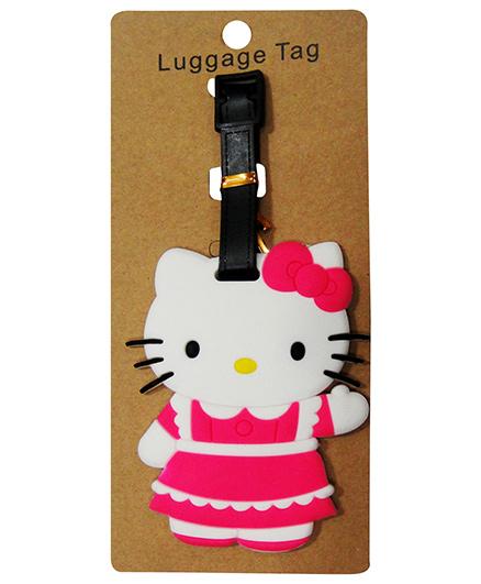 EZ Life Premium Silicon Luggage Tag - Hello Kitty