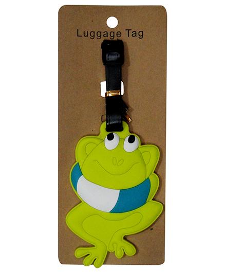 EZ Life Premium Silicon Luggage Tag - Happy Frog