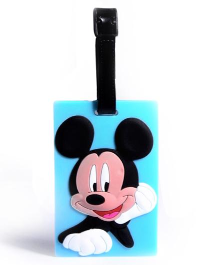 EZ Life Premium Silicon Luggage Tag - Mickey Mouse
