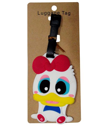 EZ Life Premium Silicon Luggage Tag - Daffy Duck
