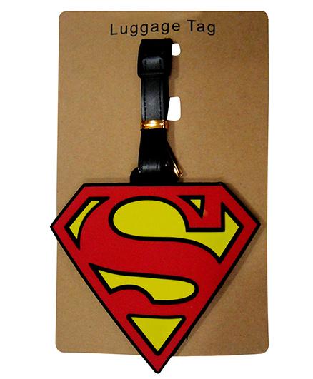 EZ Life Premium Silicon Luggage Tag - Superman Logo