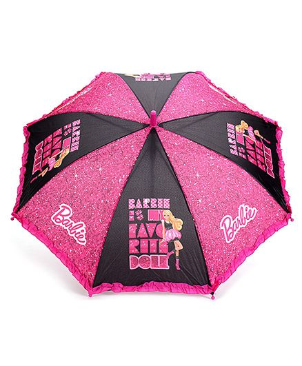 Barbie Kids Umbrella Printed - Dual Colour
