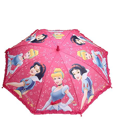 Disney Princess Umbrella Pink - 19 Inches