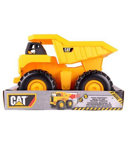 CAT Big Rev Up Dump Truck - Yellow