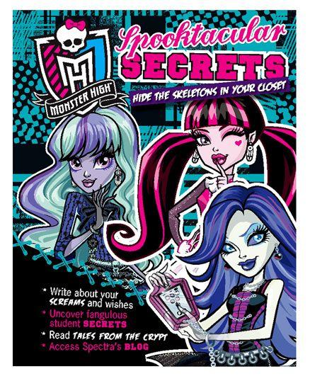 Parragon Monster High Spooktacular Secrets - English