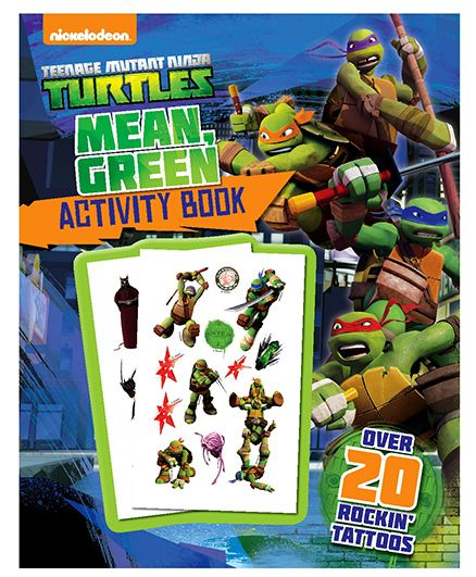 Parragon Nickelodeon Turtles Mean Green Activity Book - English