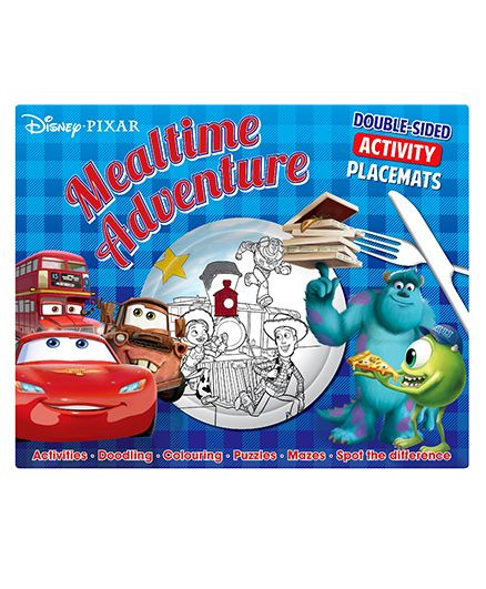 Parragon Disney Pixar Mealtime Adventure - English