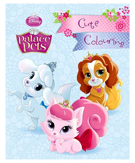 Parragon Disney Princess Palace Pets Cute Colouring Book