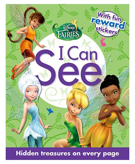 Parragon Disney Fairies I Can See With Fun Reward Stickers