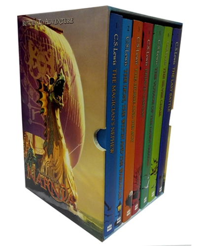 Harper Collins Chronicles of Narnia Box Set English - Set of 7