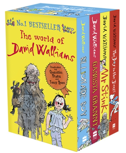 Harper Collins The World of David Walliams - Set of 4