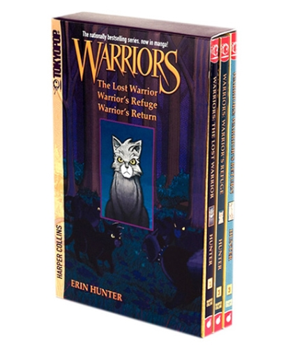 Harper Collins Warriors Manga Box Set Graystripes Adventure