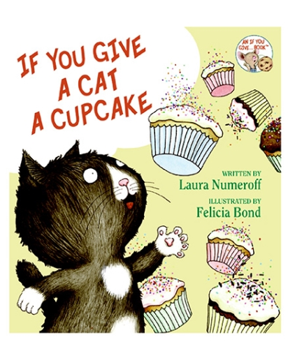 Harper Collins If You Give A Cat A Cupcake - English