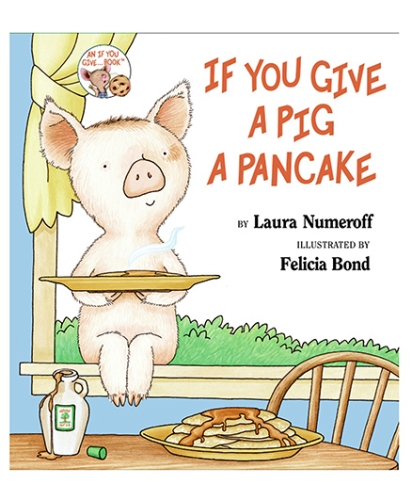 Harper Collins If You Give A Pig A Pancake - English