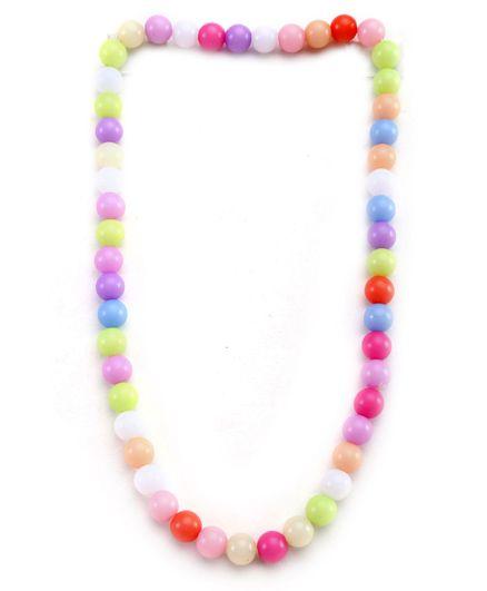 Hopscotch Necklace Round Beads - Multi Colour