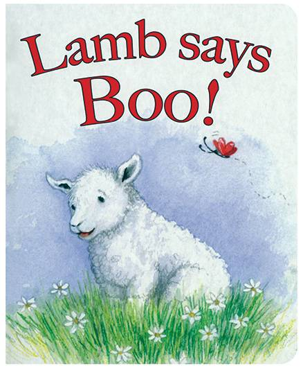Lamb Says Boo - English