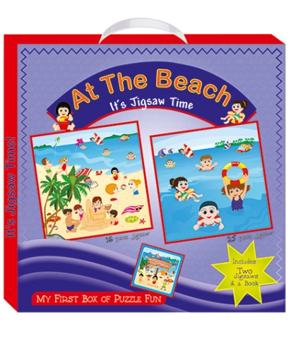 Art Factory At the Beach My First Box of Puzzle Fun