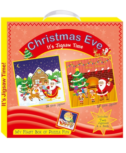 Art Factory Christmas Eve My First Box of Puzzle Fun
