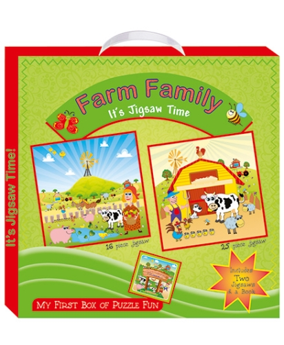 Art Factory Farm Family My First Box of Puzzle Fun