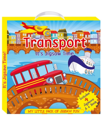 ART Factory Transport - My Little Pack of Jigsaw Puzzle