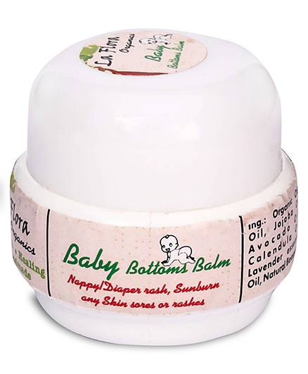 La Flora Organics Babys Bottom Balm - 25 gm