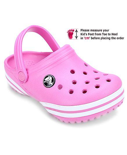 Crocs Clog With Back Strap - Pink