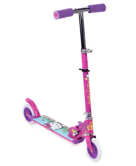 Hello Kitty Two Wheeler Scooter - Pink