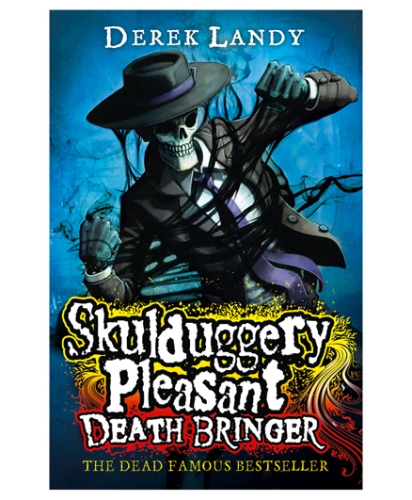Happer Collins Skulduggery Pleasant Death Bringer - English