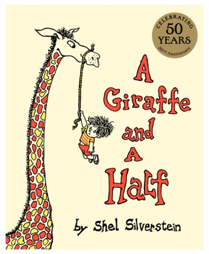 Harper Collins Story Book A Giraffe And A Half - English