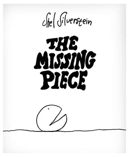 Harper Collins Book The Missing Piece - English