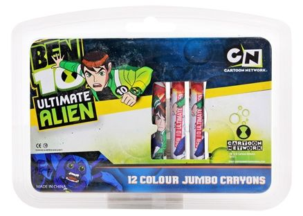 Jumbo Crayons - Ben 10