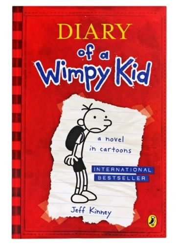 A Novel In Cartoons- Diary Of A Wimpy Kid