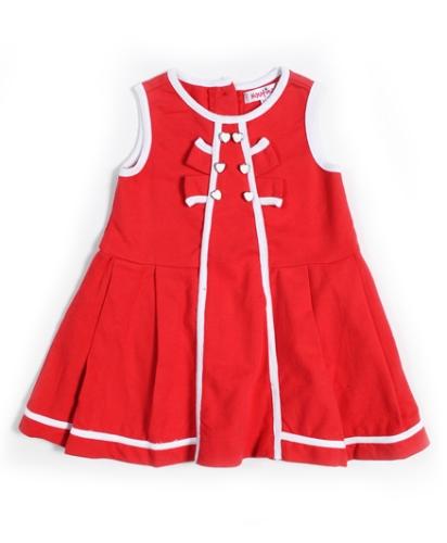 Nauti Nati Paneled Sleeveless Tunic Top - Red