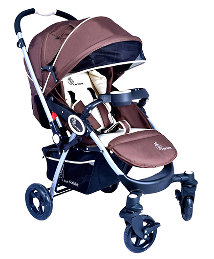 R for Rabbit Chocolate Ride The Designer Pram - Chocolate Brown