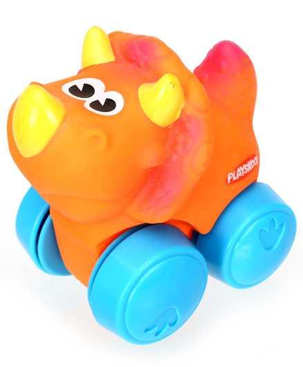 Funskool Playskool Wheel Pals Animals - Orange