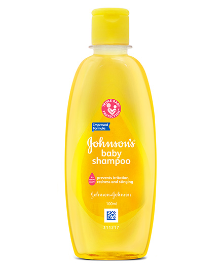 Johnsons Baby Shampoo, 100 ml