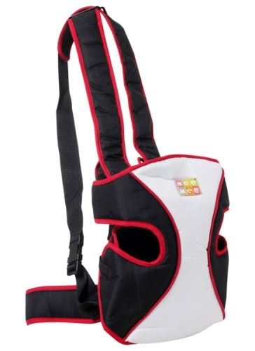 Mee Mee - Baby Carrier Black & Red