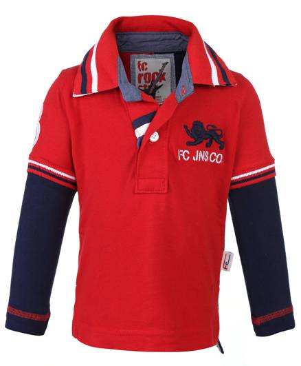 Finger Chips Doctor Sleeves T-Shirt - FC Jeans Co Embroidery