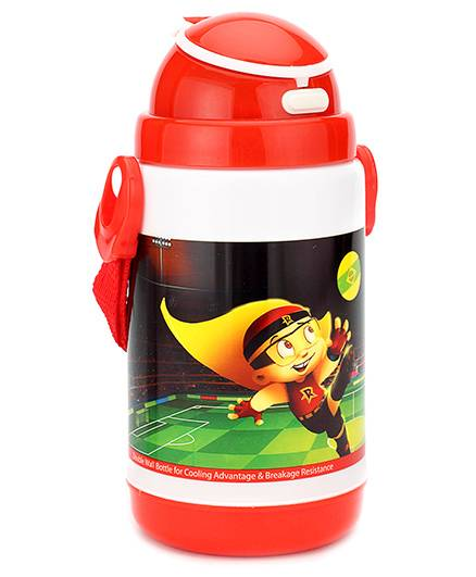 Chhota Bheem Push Button Sipper Bottle Red - 350 ml
