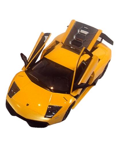 Rastar Die Cast Murcielago LP 670-4 Car - Yellow