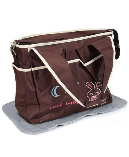 Mee Mee Nursery Bag - Dark Brown