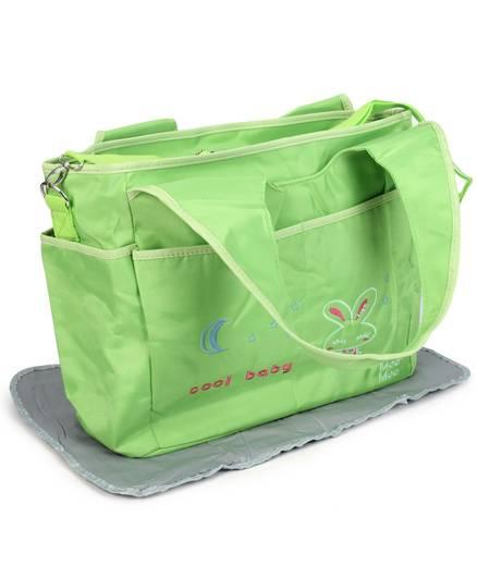Mee Mee Nursery Bag - Green