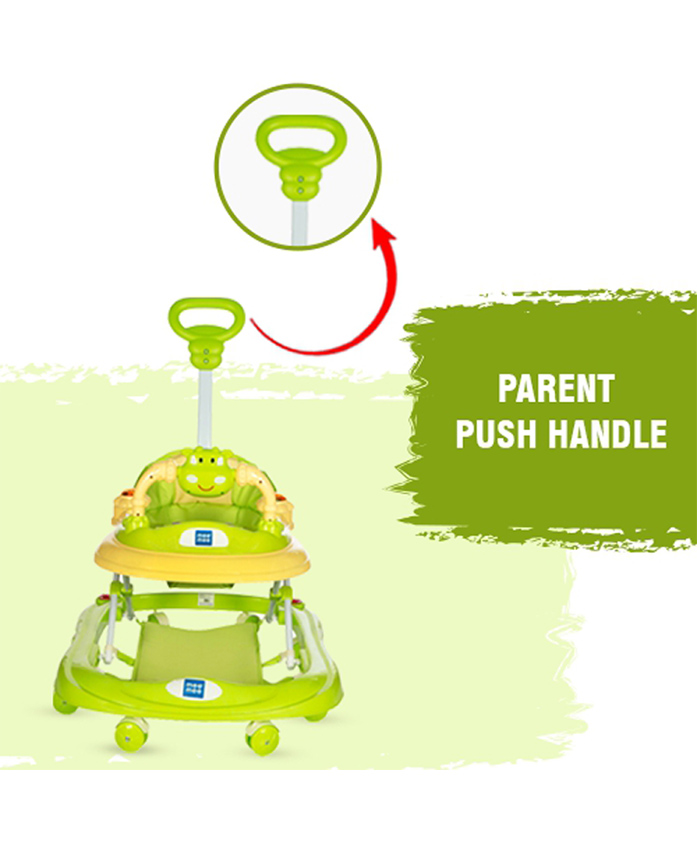 Mee Mee Musical Walker - Green