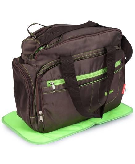 Mee Mee Nursery Bag Multi Pockets - Dark Brown