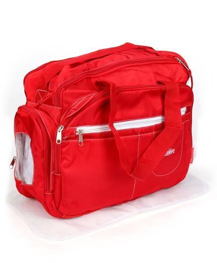 Mee Mee Nursery Bag Multi Pockets - Red