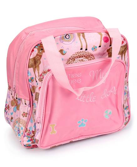 Mee Mee Nursery Bag Multi Print - Pink