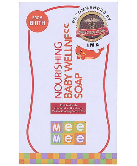 Mee Mee Nourishing Baby Wellness Soap
